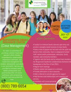 Case Management Flyer